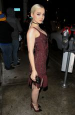 DOVE CAMERON at Catch LA in West Hollywood 01/10/2017
