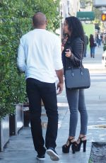 DRAYA MICHEL Out and About in Beverly Hills 01/19/2017