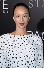 DRAYA MICHELE at 'The Space Between Us' Premiere in Los Angeles 01/17/2017