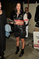 DRAYA MITHELE at Catch LA in West Hollywood 01/12/2017