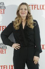 DREW BARRYMOORE at Santa Clarita Diet Photocall in Madrid 01/19/2017