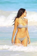 EIZA GONZALEZ in Bikini at a Beach in Mexico 01/01/2017