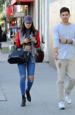 EIZA GONZALEZ Out with a Friend in Los Angeles 01/30/2017
