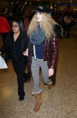 ELENA KAMPOURIS Arrives in Salt Lake City 01/19/2017
