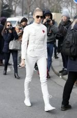 ELENA PERMINOVA at Christian Dior Fashion Show in Paris 01/23/2017