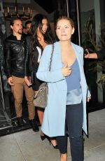 ELISAHA CUTHBERT at Catch LA in West Hollywood 01/28/2017