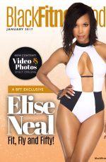 ELISE NEAL for Black Fitness Today Magazine, January 2017