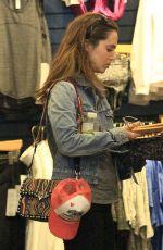 ELIZA DUSHKU Shopping at Lululemon in Beverly Hills 01/16/2017