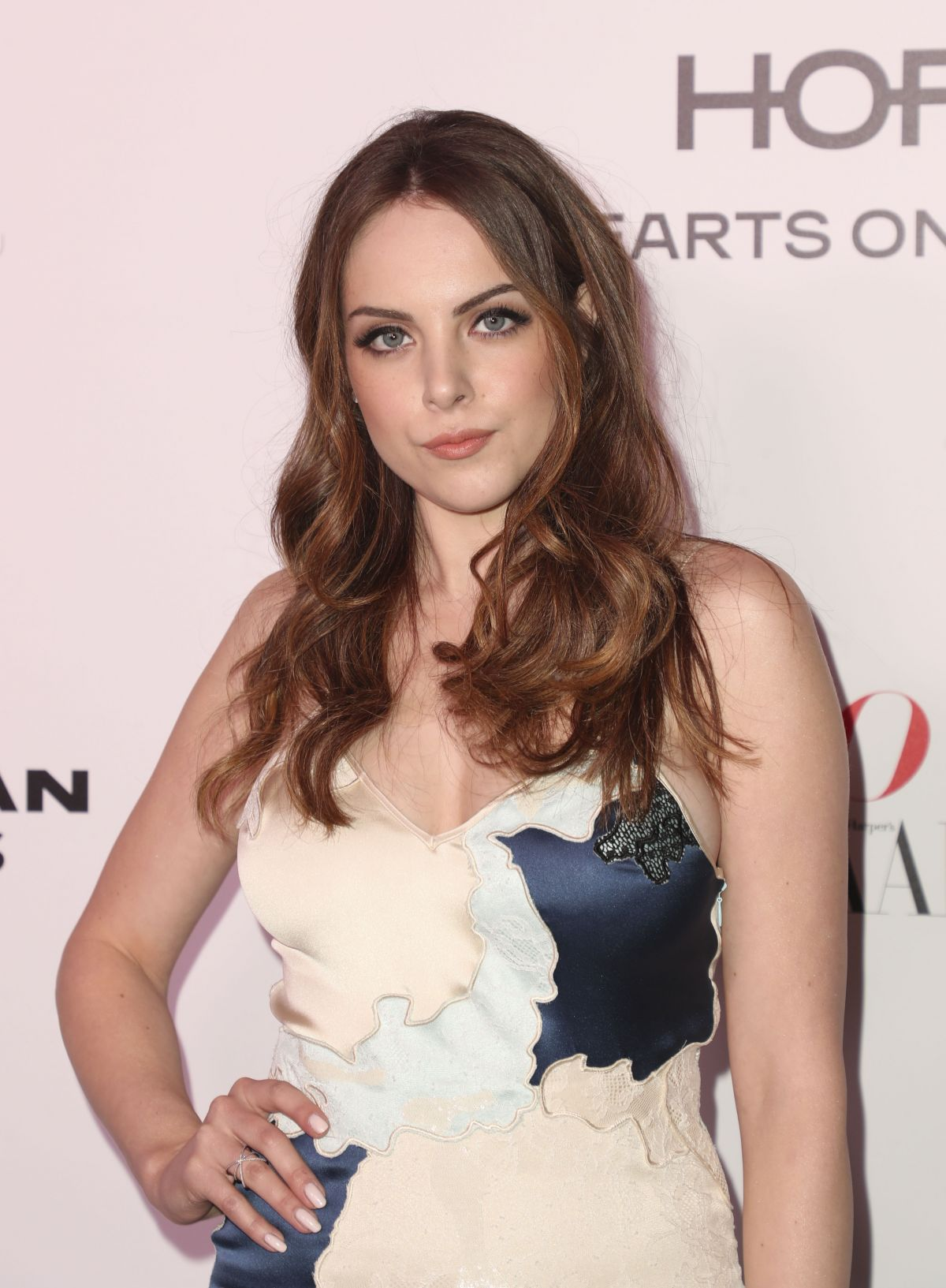 ELIZABETH GILLIES at Harper