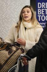 ELIZABETH OLSEN at LAX Airport in Los Angeles 01/22/2017