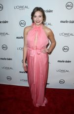 ELIZABETH OLSEN at Marie Claire's Image Maker Awards 2017 in West Hollywood 01/10/2017