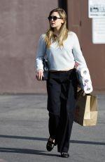 ELIZABETH OLSEN Out Shopping in Los Angeles 01/18/2017