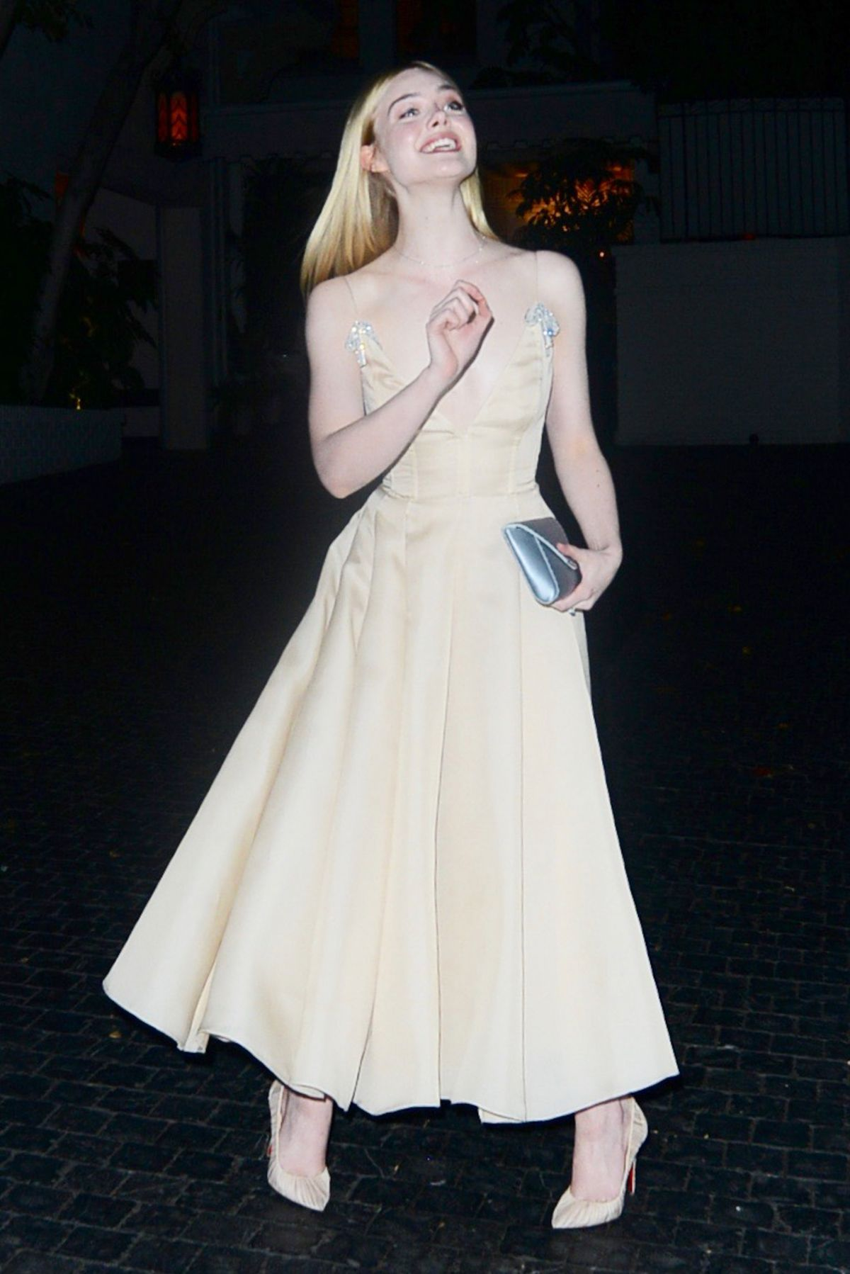 ELLE FANNING at Chateau Marmont in West Hollywood 01/08/2017