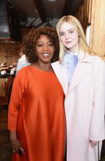 ELLE FANNING at Glamour and Girlgaze Sundance Lunch in Park City 01/24/2017