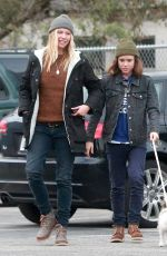 ELLEN PAGE Out and About in Los Angeles 01/05/2017