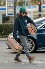 ELLEN PAGE Shopping at Bristol Farms in West Hollywood 01/24/2017