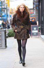 ELSA HOSK Out in New York 01/12/2017