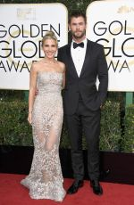ELSA PATAKY at 74th Annual Golden Globe Awards in Beverly Hills 01/08/2017