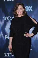 EMILY DESCHANEL at Fox All-star Party at 2017 Winter TCA Tour in Pasadena 01/11/2017