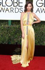 EMILY RATAJKOWSKI at 74th Annual Golden Globe Awards in Beverly Hills 01/08/2017