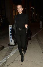 EMILY RATAJKOWSKI at Catch LA in West Hollywood 01/26/2017