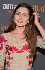 EMILY ROBINSON at HBO Golden Globes Party in Beverly Hills 01/08/2017