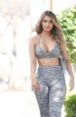EMILY SEARS on the Set of a Photoshoot in Los Angeles 01/30/2017