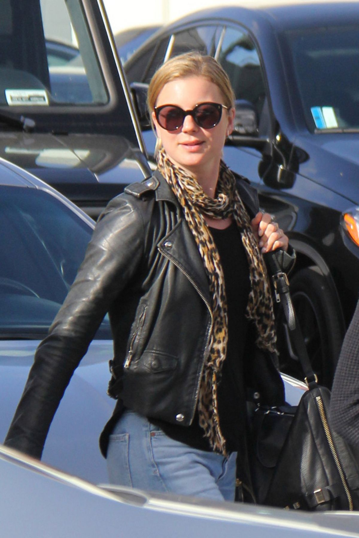 EMILY VANCAMP Out and About in Beverly Hills 01/11/2017 ...