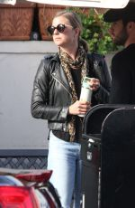 EMILY VANCAMP Out and About in Beverly Hills 01/11/2017