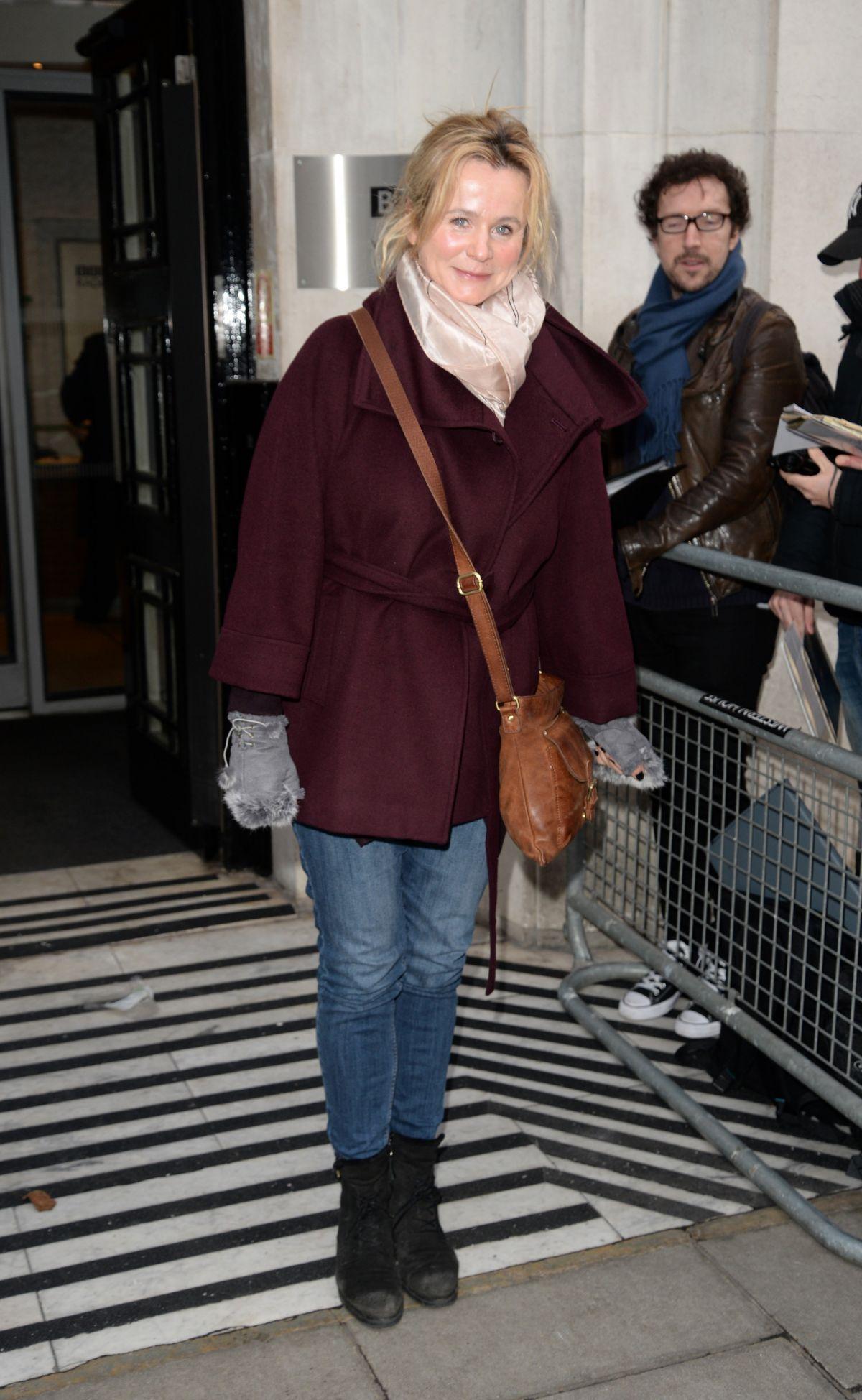 EMILY WATSON at BBC Radio 2 Studios in London 01/13/2017