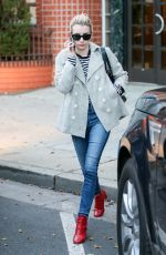 EMMA ROBERTS Out and About in Beverly Hills 01/19/2017