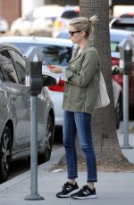 EMMA ROBERTS Out and About in West Hollywood 01/17/2017