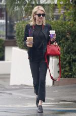EMMA ROBERTS Out for Coffee in Los Angeles 01/05/2017