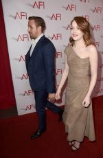 EMMA STONE at 17th Annual AFI Awards in Los Angeles 01/06/2017
