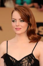 EMMA STONE at 23rd Annual Screen Actors Guild Awards in Los Angeles 01/29/2017