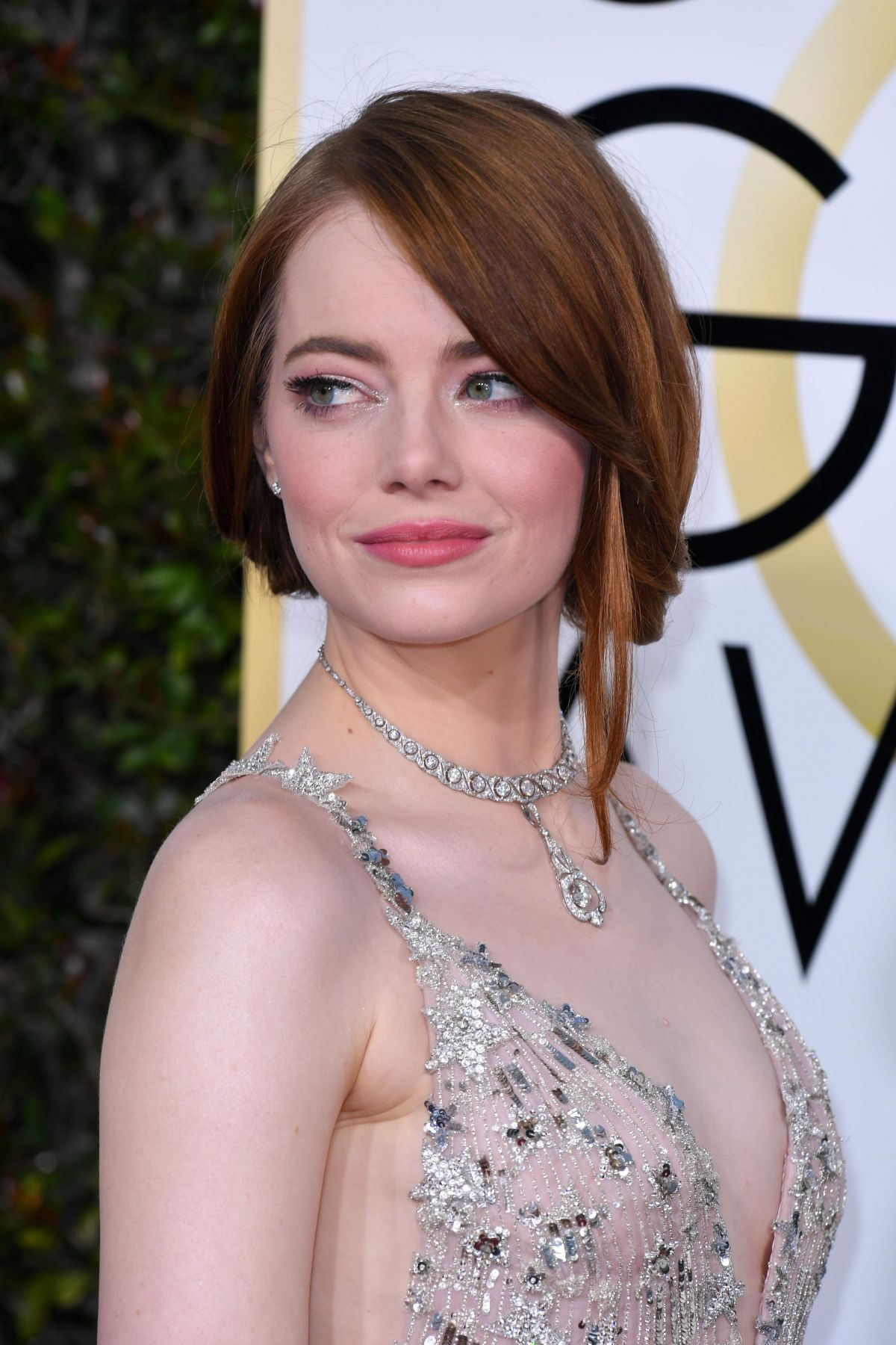 EMMA STONE at 74th Annual Golden Globe Awards in Beverly ... Emma Stone