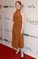 EMMA STONE at Bafta Tea Party in Los Angeles 01/07/2017