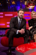EMMA STONE at Graham Norton Show in London 01/12/2017