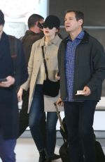 EMMA STONE at Roissy Airport in France 01/10/2017