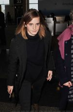 EMMA WATSON Arrives in Washington 01/20/2017