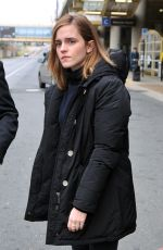 EMMA WATSON Out and About in Washington 01/20/2017