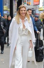 ERIN ANDREWS Leaves Good Morning America Studio in New York 01/10/2017