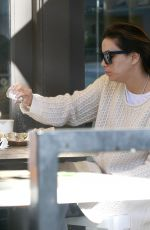 EVA LONGORIA Out for Breakfast in Beverly Hills 01/30/2017