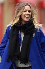 EVELINA KAMPH Arrives at Old Trafford in Manchester 01/15/2017