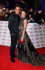 FAYE BROOKES at National Television Awards in London 01/25/2017