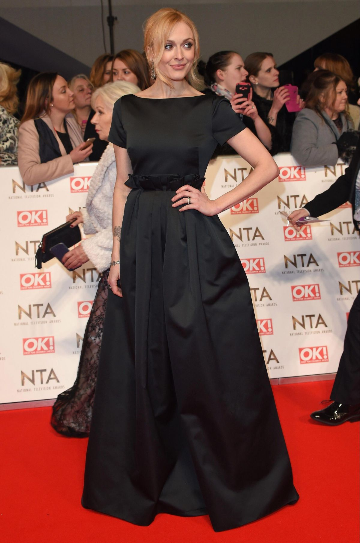 FEARNE COTTON at National Television Awards in London 01/25/2017
