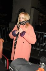 FEARNE COTTON Night Out in London 01/30/2017
