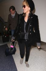 FELICITY HUFFMAN at Los Angeles International Airport 01/13/2017