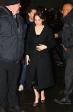 FELICITY JONES Arrives at Saturday Night Live Celebration in New York 01/14/2017