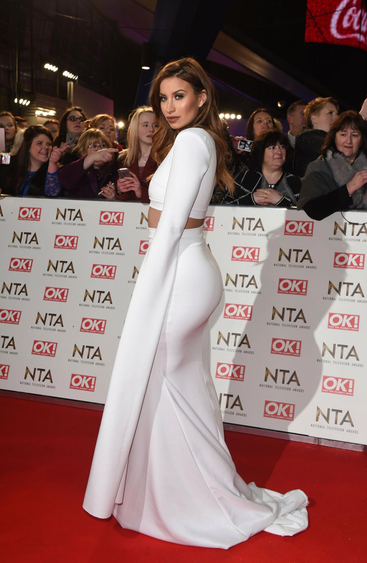 FERNE MCCANN at National Television Awards in London 01/25/2017